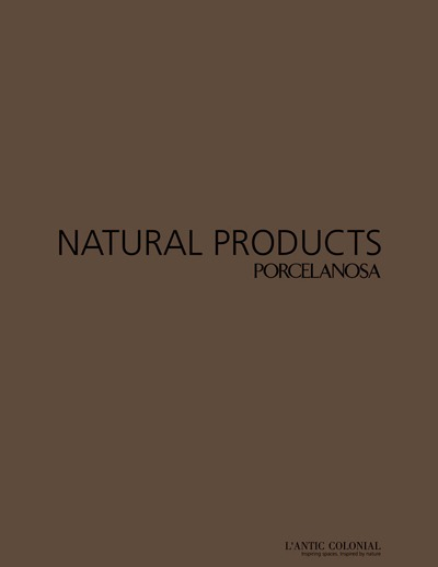 porcelanosa natural products